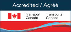 Agréé / Accredited - Transport Canada